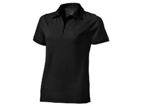 """Рубашка поло """"Yukon"""" женская, черный"""