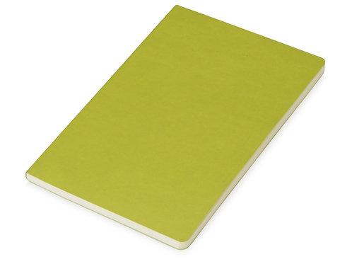 Блокнот «Wispy» линованный в мягкой обложке, зеленое-яблоко