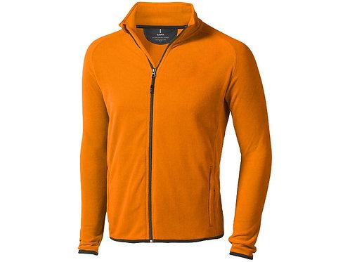 """Куртка флисовая """"Brossard"""", мужская, оранжевый"""