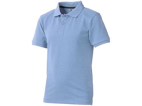 """Рубашка поло """"Calgary"""" детская, голубой"""