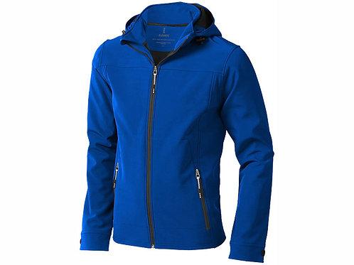 """Куртка софтшел """"Langley"""" мужская, синий"""