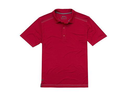 """Рубашка поло """"Receiver CF"""" мужская, темно-красный"""