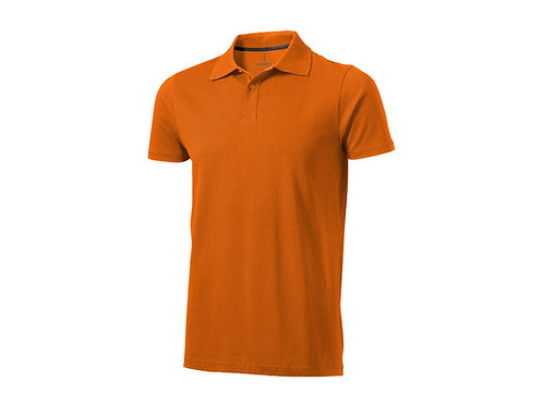 "Рубашка поло ""Seller"" мужская, оранжевый"
