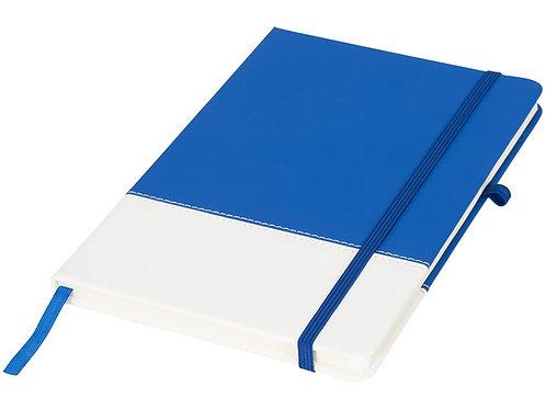 Блокнот А5 двухцветный, синий