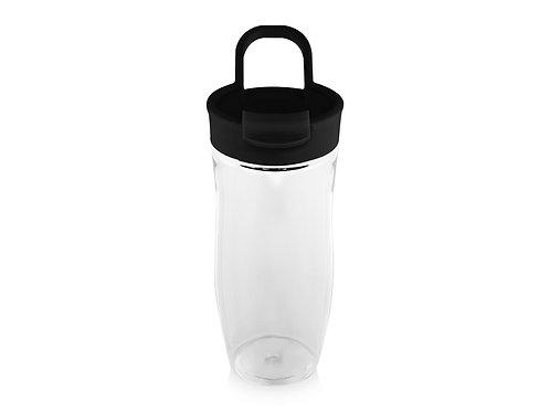 """Бутылка спортивная """"Nutri"""" 700мл, черный/прозрачный"""