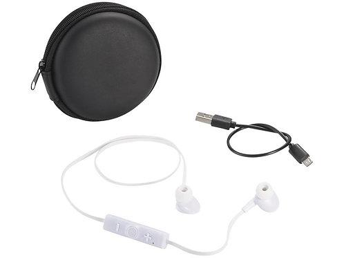 Sonic наушники с Bluetooth® в переносном футляре, белый/черный