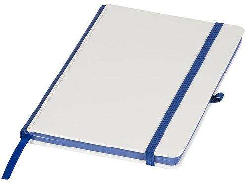 Блокнот А5 «Solid», белый/ярко-синий