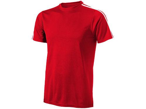 """Футболка """"Baseline"""" мужская, красный/белый"""