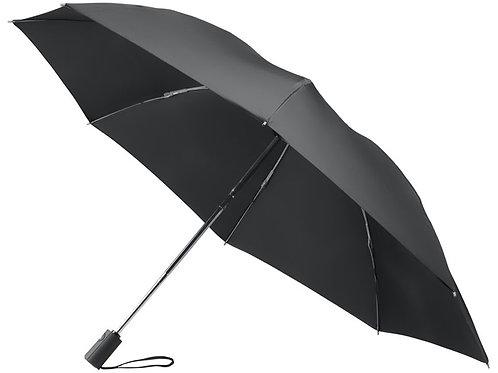 Зонт складной полуавтомат, черный
