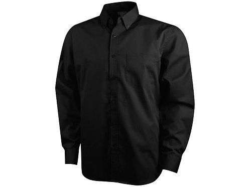 """Рубашка """"Wilshire"""" мужская с длинным рукавом, черный"""