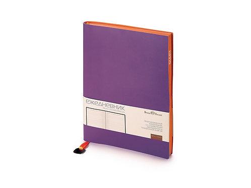 Ежедневник А5 недатированный «Mercury», фиолетовый
