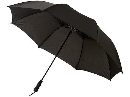 """Зонт Argon 30"""" двухсекционный полуавтомат, черный"""