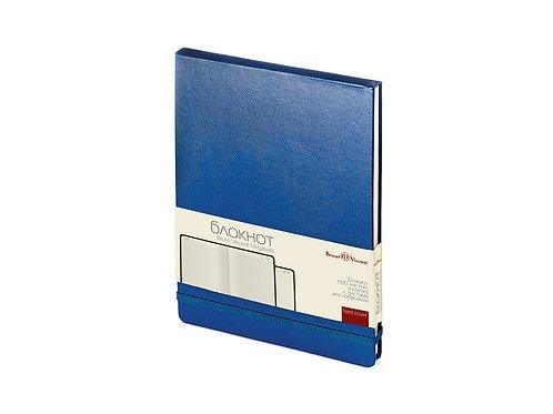 Блокнот А5 «Megapolis Reporter», синий