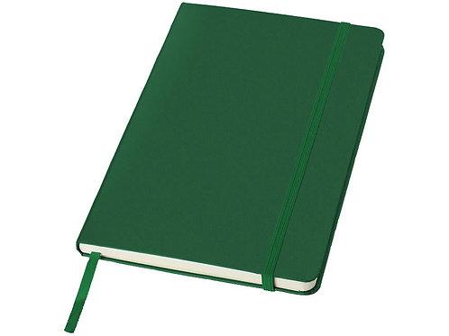 """Блокнот классический офисный """"Juan"""" А5, зеленый"""