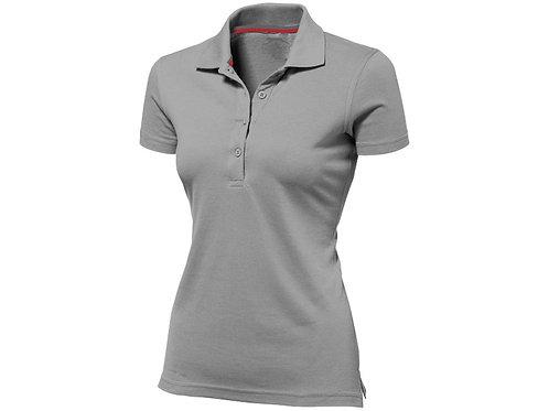 """Рубашка поло """"Advantage"""" женская, серый"""