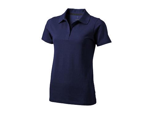 """Рубашка поло """"Seller"""" женская, темно-синий"""