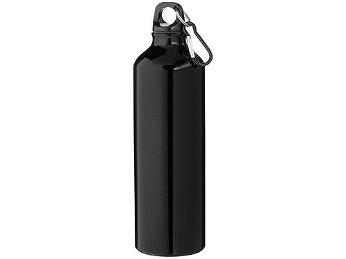 """Бутылка """"Pacific"""" с карабином, черный"""