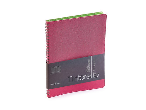 Еженедельник недатированный B5 «Tintoretto», розовый