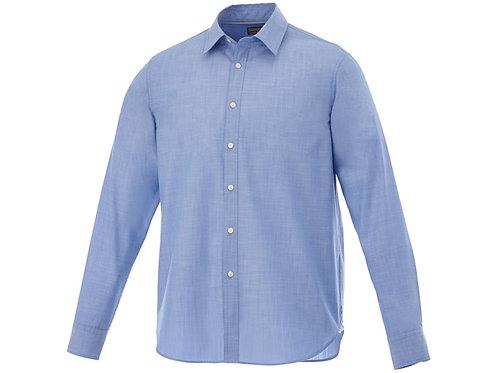 "Рубашка ""Lucky"" мужская, светло-синий"