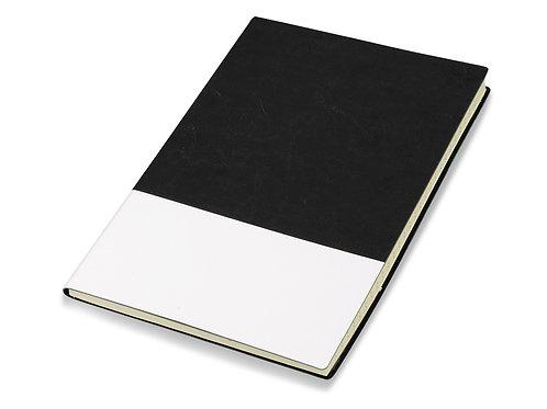 """Блокнот """"Fusion"""", черный/белый. Lettertone"""