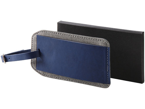 Бирка для багажа «Heathered», синий