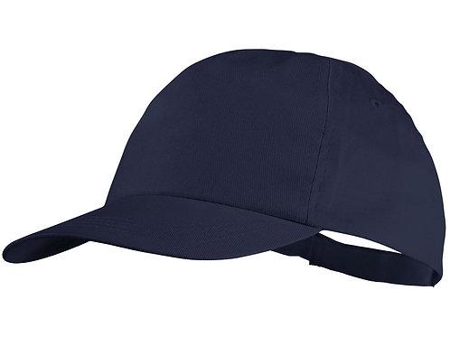 "Бейсболка ""Basic"", 5-ти панельная, темно-синий"