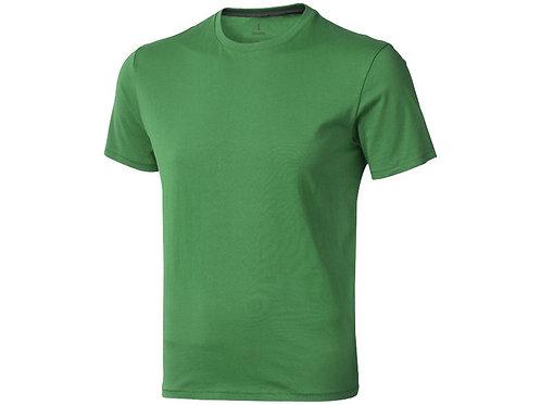 "Футболка ""Nanaimo"" мужская, зеленый папоротник"