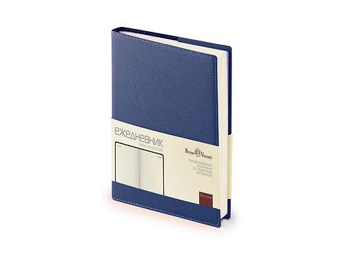 Ежедневник А5 полудатированный «Porto», ярко-синий
