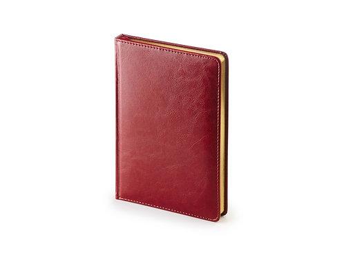 Ежедневник А5 датированный «Sidney Nebraska» 2019, бордовый