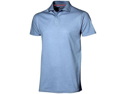 """Рубашка поло """"Advantage"""" мужская, светло-синий"""