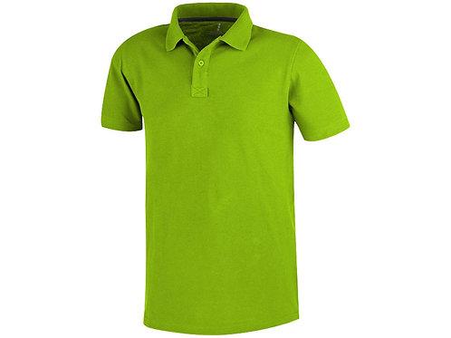 Рубашка поло «Primus» мужская, зеленое яблоко