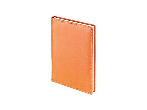 Ежедневник недатированный А5 «Velvet», оранжевый