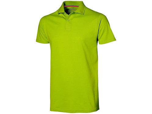 """Рубашка поло """"Advantage"""" мужская, зеленое яблоко"""