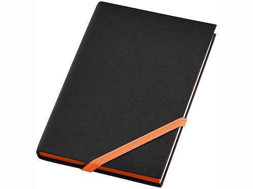"""Блокнот А6 """"Travers Junior"""", черный/оранжевый"""