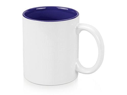 Кружка «Gain» 320мл, белый/синий