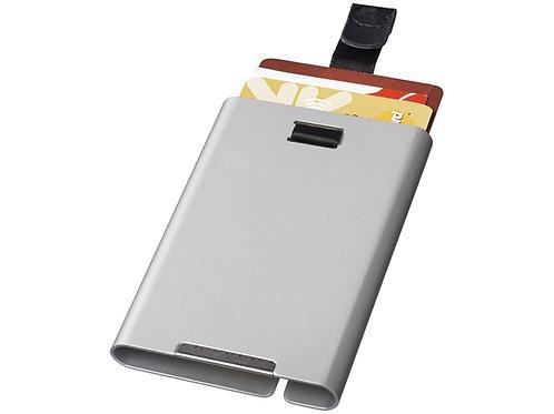 RFID слайдер для карт, серебристый