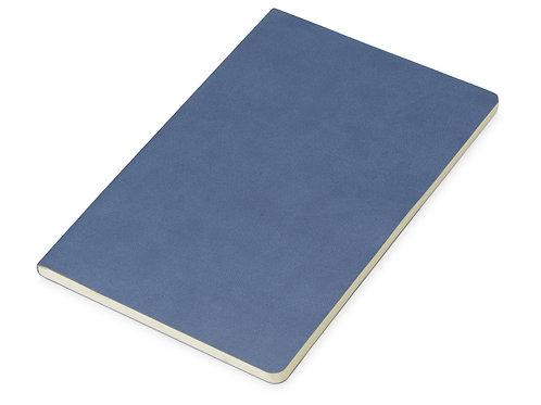 Блокнот «Wispy» линованный в мягкой обложке, темно-синий