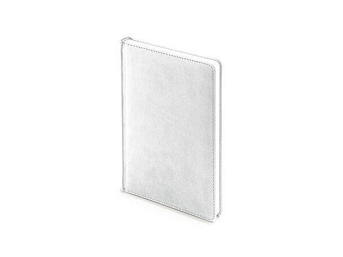 Ежедневник недатированный А5 «Velvet», белый