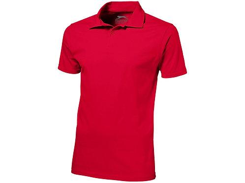"""Рубашка поло """"Let"""" мужская, красный"""
