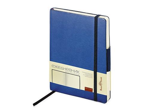 Ежедневник А5 недатированный «Zenith», синий