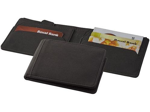 Бумажник Adventurer RFID, черный, Marksman