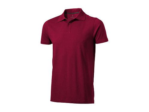 "Рубашка поло ""Seller"" мужская, бургунди"