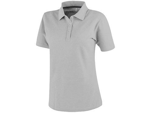 Рубашка поло «Primus» женская, серый меланж