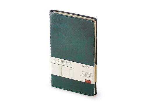 Ежедневник А5 недатированный «Verona», зеленый