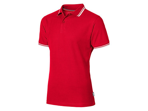 """Рубашка поло """"Deuce"""" мужская, красный"""