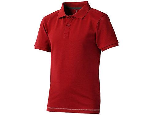 """Рубашка поло """"Calgary"""" детская, красный/белый"""