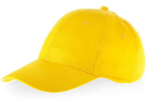 """Бейсболка """"Watson"""", 6 панелей, желтый"""