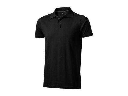 """Рубашка поло """"Seller"""" мужская, черный"""