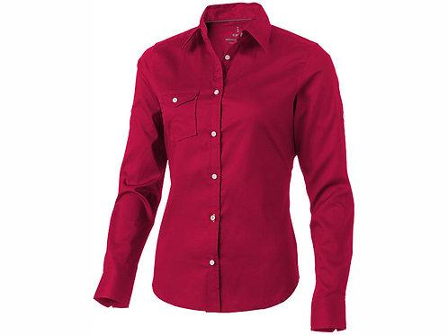 """Рубашка """"Nunavut"""" женская с длинным рукавом, красный"""