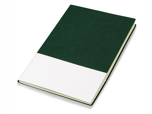 "Блокнот ""Fusion"", зеленый/белый. Lettertone"